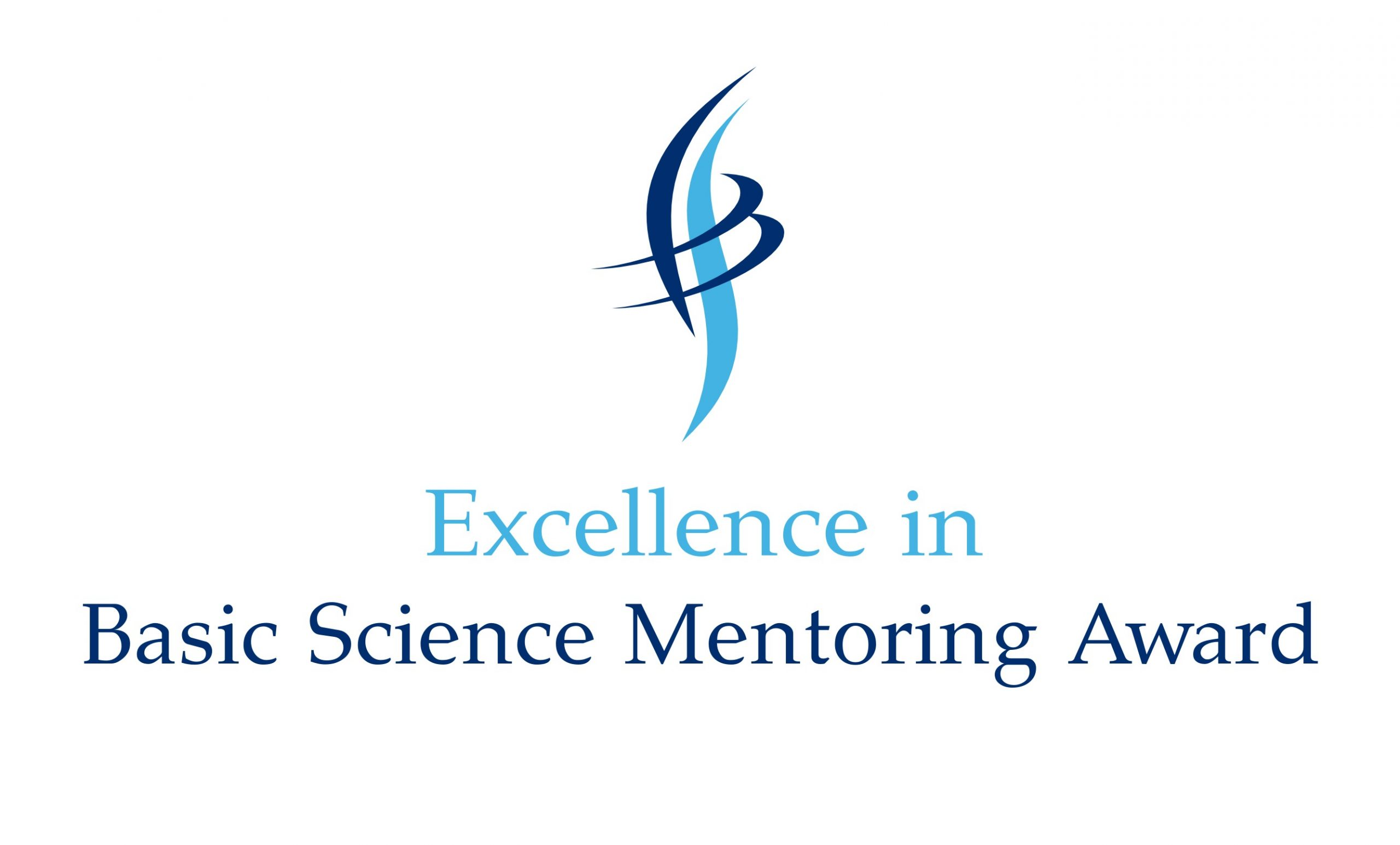 Excellence in Basic Science Mentoring Award logo